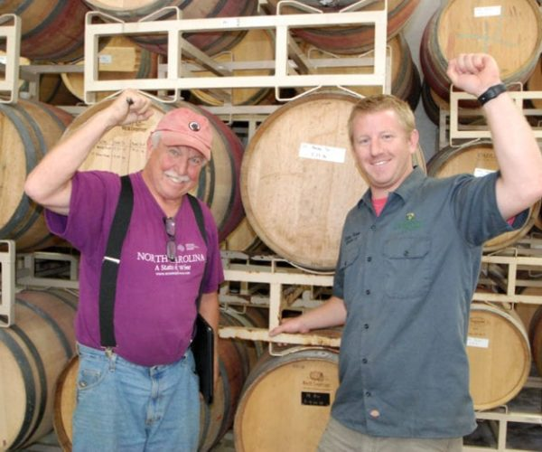 dylan and steve tatum making wine