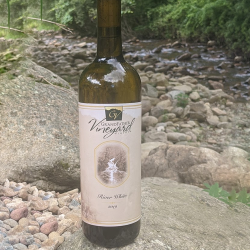 watauga river white, grandfather vineyard sweet white wine