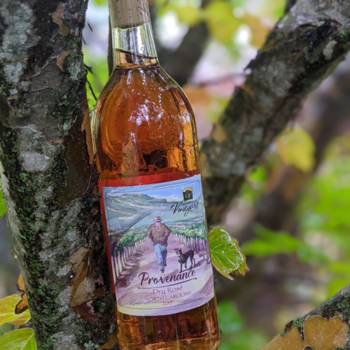 grandfather vineyard dry rose 2019, dry white wine rose blend