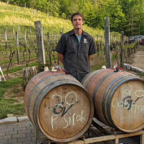 Brian Mayfield, Grandfather vineyard operations